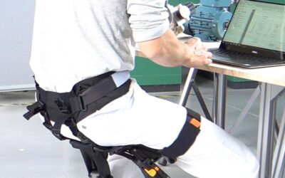 Who's heard of a chairless chair?!….and is the chair a chair or an exoskeleton?